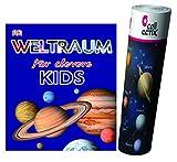 Weltraum für clevere Kids (DK Verlag) + Weltraum Poster by Collectix