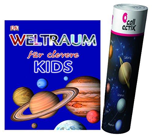 Unbekannt Weltraum für clevere Kids (DK Verlag) + Weltraum Poster by Collectix
