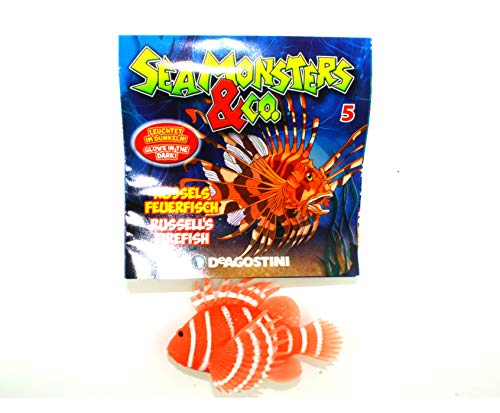 Sea Monsters & Co. Edition - Auswahl der Seemonster - 5. Russels Feuerfisch / Russel`s Firefish - Seamonsters