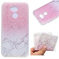 Huawei Honor 6A Smartphone Case,Ultra Slim Premium Soft TPU Silicone Case Transparent Flexible Lightweight Rubber Durable Back Shockproof Bumper Anti-Scratch Anti-Slip Grip Cover Protective Case for Huawei Honor 6A - Marble