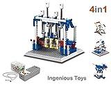 educativo set construcción (4 en 1) - potencia función maquinaria motorizado mecanismo #1404