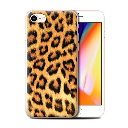 Stuff4 Hülle / Case für Apple iPhone 7 / Leopard Muster / Tierpelz Muster Kollektion Leopard