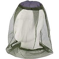 WARMTOWE - Máscara de Mosca para Pesca al Aire Libre, antimosquitos, con Red para la Cabeza y Malla para protección de la Cara
