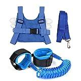 OFNMY 2 Stück Anti-verloren Gürtel baby Sicherheitsleinen Anti-Lost-Armband Anti-verlorenes Seil für Kleinkind, Kinder Sicherheitsgurt Baby Sicherheitsgeschirr Rucksack