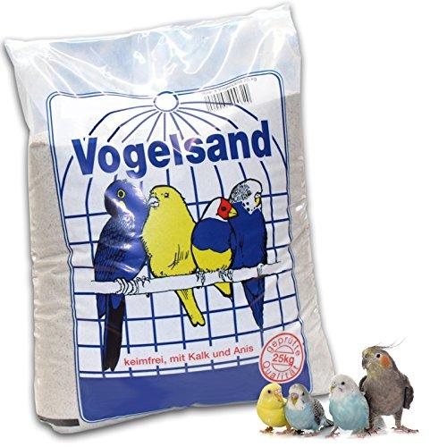 Preisvergleich Produktbild 25 kg Vogelsand mit Kalk und Anis