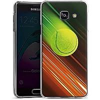 Samsung Galaxy A3 (2016) Housse Étui Protection Coque Tennis Balle de tennis Rapide