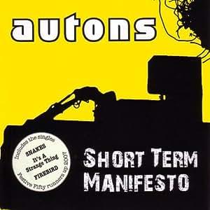 Short Term Manifesto