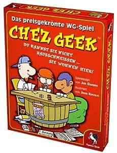 Pegasus Spiele - 17300 - Jeux de Société Allemand - Chez Geek: Das WG Kartenspiel