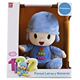 Pocoyo Bandai 84397 Letters and Numbers Cuddly Toy [English Language Not Guaranteed]