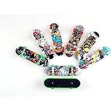 WayIn® 6-Pack Mini patín del dedo / Fingerboards Toy Boy niños hijos de Pink (Los estilos varían)
