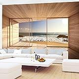 Vlies Fototapete 352×250 cm – 9051011a 'Fenster zum Meer' RUNA Tapete - 4