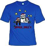 Herren T-Shirt Shirt Leiberl - Tolle Geschenkidee für Weihnachten Nikolaus Advent Wichtel Wichtelgeschenk Weihnachtsgeschenk Jingle Bells Gr: L