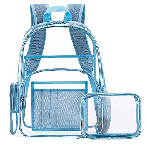 AIni Rucksack Mode Damen Im Freien Transparente Jelly Square Schultertasche Messenger Bag Schulrucksack Business Wandern Reisen Camping Tagesrucksack