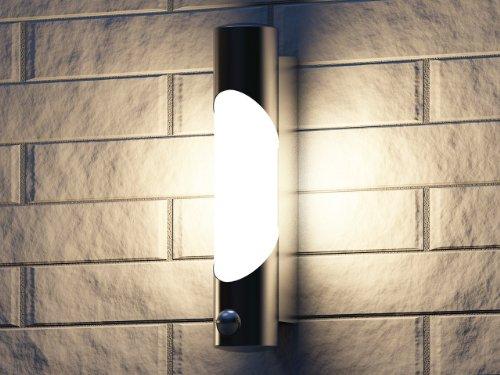 Lampade Da Parete Per Esterni : Philips bamboo lampada da parete per esterno luce diffusa