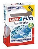 Tesa film kristall-klar, 10m:19mm, 1 Rolle in der Hängefaltschachtel