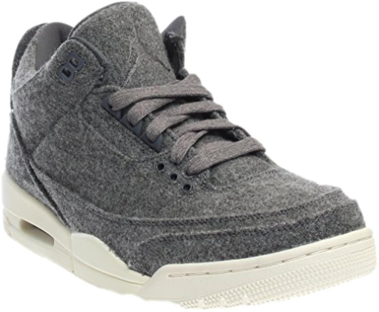 Jordan Nike Men's Air 3 Retro Wool Basketball Shoe