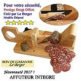 Guillotine, Trancheuse à Saucisson Le Berger La Conviviale AFFUTEUR INTEGRE Garantie 3 ans