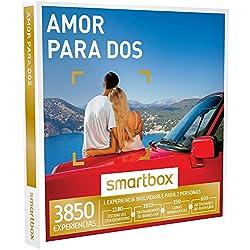 SMARTBOX - Caja Regalo - AMOR PARA DOS - 4000 experiencias como escapadas, cenas, spa y masajes, actividades de aventura
