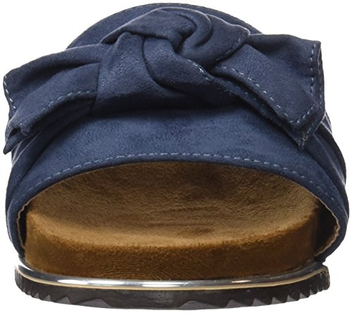 Jeans Blau Peeptoe 64326 Refresh Damen Sandalen qpHOOw