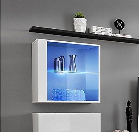Design Ameublement - Armoire mural modele Berit 60x60 couleur blanc