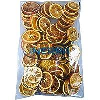 INERRA Desecado Naranja Rodajas - Natural Navidad Popurrí Aromático Guirnalda Árbol & Corona Decoración - 50 Grams