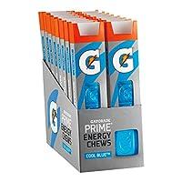 Gatorade Prime Energy Chews, Cool Blue (Pack of 16)