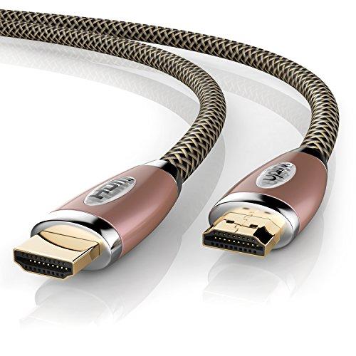 Uplink - Premium 2m - HDMI-Kabel Ultra HD 4k | High Speed with Ethernet | HDMI 2.0 / 1.4a kompatibel | 4K Ultra HD 2160p / Full HD 1080p | 3D / ARC / CEC