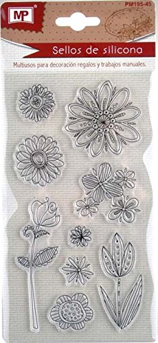 MP PM195-45 - Sellos transparentes scrapbooking