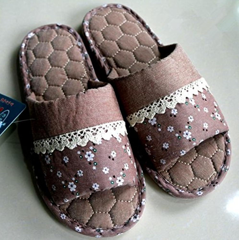 mhgao Home Fashion hombres slip cálido Casual zapatillas, gris, 43 -