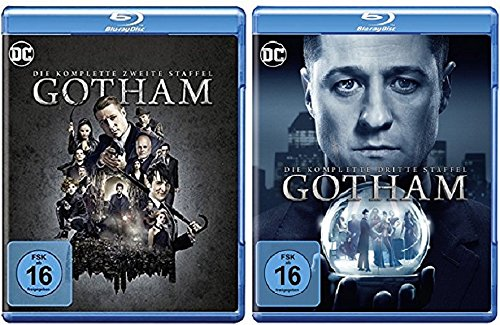 Gotham Staffel 2+3 [Blu-ray Set] DC Serie