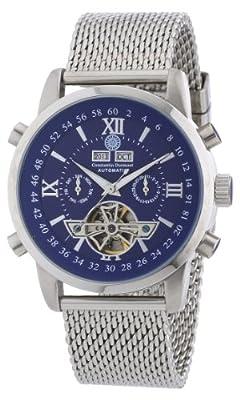 Constantin Durmont CD-CALE-AT-STM2-STST-BL - Reloj analógico para Caballero de Acero Inoxidable Azul de Constantin Durmont