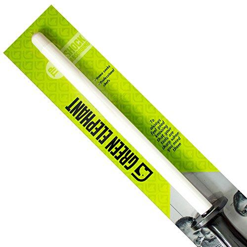 Green Elephant Messer Wetzstahl Keramik, Schleifstab Aus Langlebigem Und Leichtgewichtigem Keramik, Müheloses Und Schnelles Schleifen Und Schärfen Ihrer Messer, Länge 27,9 cm (11 Inch)