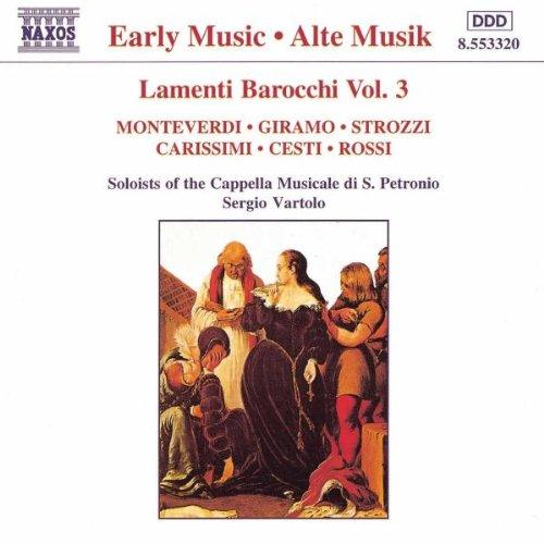 Lamenti baroques Vol.3