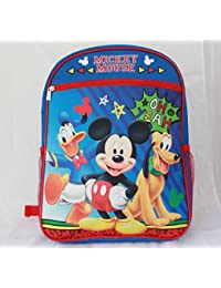 Mickey Mouse Little Boys Kids Backpack School Bookbag