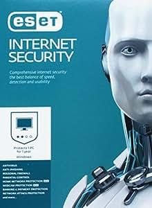 ESET Internet Security 2017 - 1 poste - Abonnement 1 an [DVD/Boite]