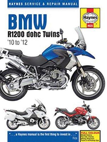 BMW R1200 dohc Twins: '10 to '12 (Haynes Service & Repair Manual) by Editors of Haynes (2016-07-15)