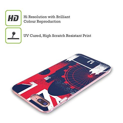 Head Case Designs Accento Inglese Stampa Londinese Cover Retro Rigida per Apple iPhone X Monumenti
