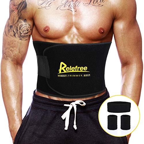 Fascia addominale dimagrante uomo e donna cintura dimagrante regolabile fascia sauna di neoprene accelerare la combustione dei grassi e rendere l'addome raggiungere l'effetto di sauna (l)
