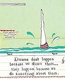 Dreams Don'nicht Passieren, Denn Wir Ihnen Dream Karten-Curly Girl Design)