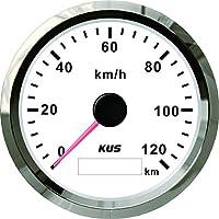 Kus GPS Velometer Tacho Gauge 120km/h für Auto Truck 85mm