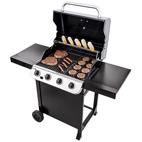 Char-Broil Convective Series  410B - 4 Burner Gas Barbecue Grill, Black Finish.