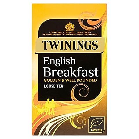 Twinings English Breakfast Loose Tea 125g - Twinings Colazione Tè