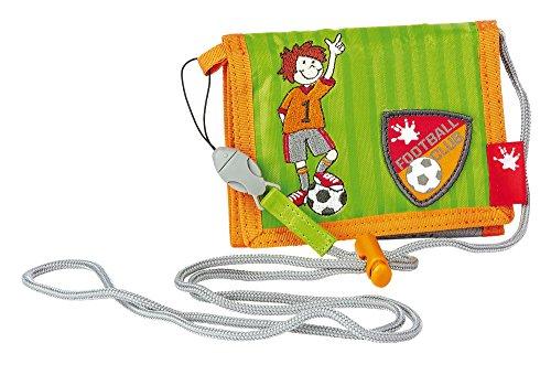 sigikid, Jungen, Brustbeutel, Fußballspieler, Kily Keeper, Grün/Orange, 23814
