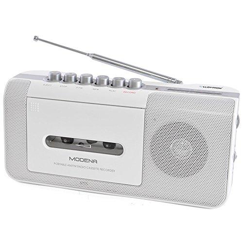 Lloytron Modena Portable Radio Cassette Recorder with 2 Band Test