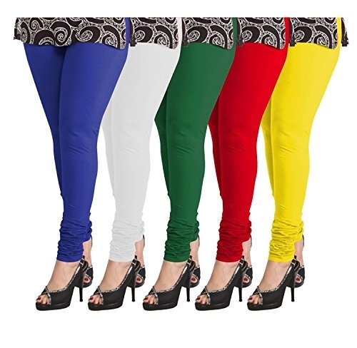 Women Leggings Women\'s seaming shining Leggings (Pack Of 5, Multicolor, XL)