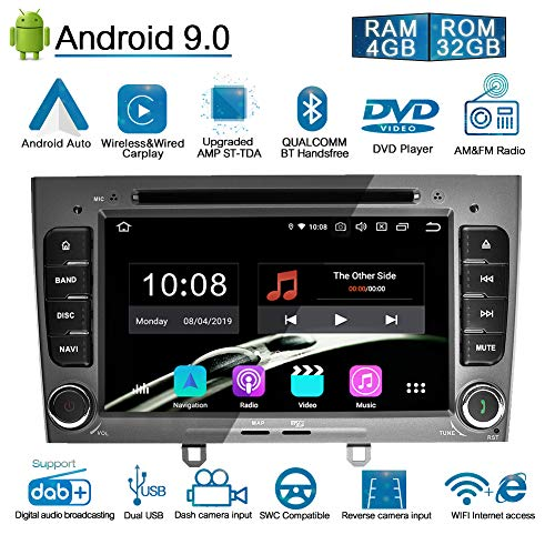 Ohok 2 DIN Autoradio 7 Pulgadas Android 9.0 PIE Octa Core 4G+32GB...