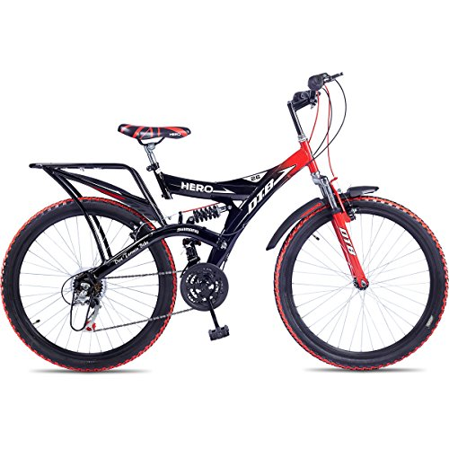 Hero Octane 26T DTB Alloy 21 Speed Adult Cycle (Red)