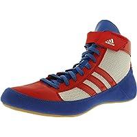 Adidas Hvc lacées Wrestling Chaussures - 14 - bleu / rouge / blanc