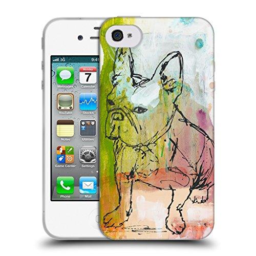 Offizielle Wyanne Einstellung Tiere Soft Gel Hülle für Apple iPhone 4 / 4S Apple Iphone 4s Att 16gb