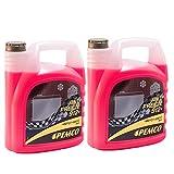2 x 5L PEMCO Antifreeze 912+ (-40) / Kühlerfrostschutz Fertiggemisch G12+ Rot